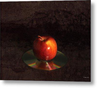 Apple Metal Print by Peter Chilelli