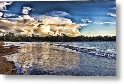 Approaching Storm Clouds Metal Print by Douglas Barnard