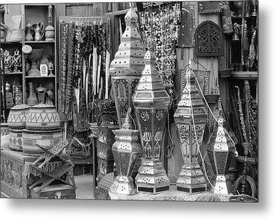 Arab Bazaar Metal Print by Paul Cowan