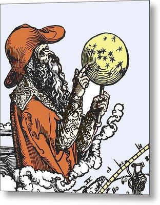 Aratus Cilis, Astronomer Metal Print by Sheila Terry