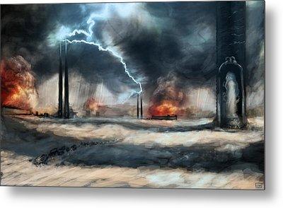 Arc Towers Metal Print by Ethan Harris