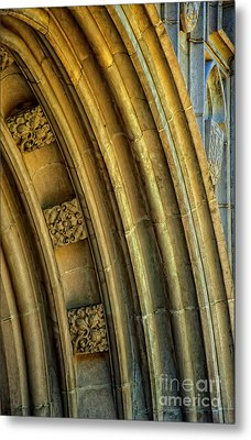 Arch Metal Print by Kathleen K Parker