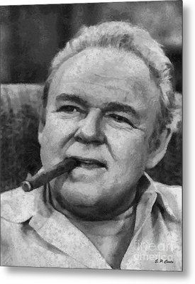 Archie Bunker Metal Print by Elizabeth Coats