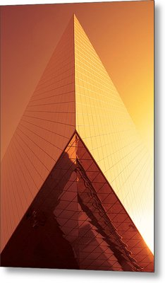 Architecture 3001 Metal Print by Falko Follert
