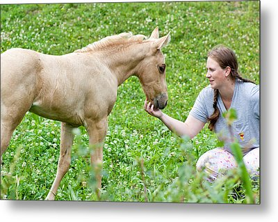 Are You My Mommy? Metal Print by Stephani JeauxDeVine