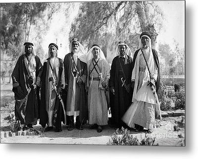 Aref Al-aref (1892-1973) Metal Print by Granger