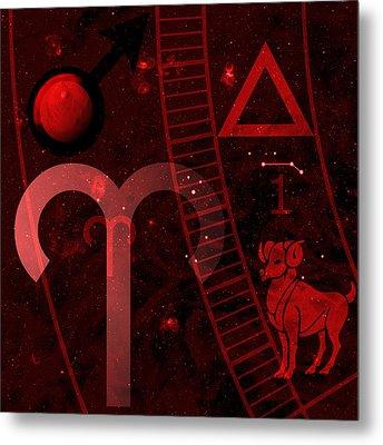 Aries Metal Print by JP Rhea