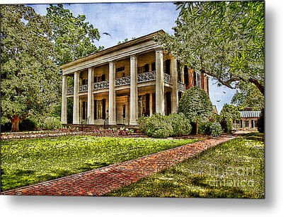 Arlington House Metal Print by Lianne Schneider