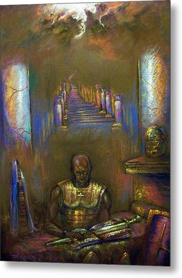 Armor Of God Metal Print by Tommy  Winn