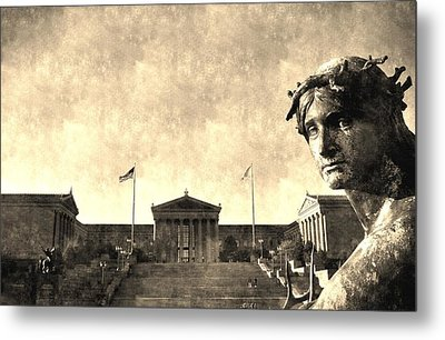 Art Museum Of Philadelphia Metal Print by Andrew Dinh