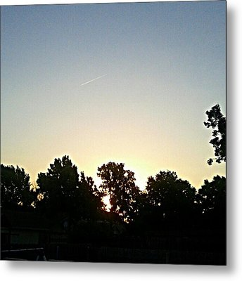 As The Sun Prepared To Rise.... #sky Metal Print by Kel Hill