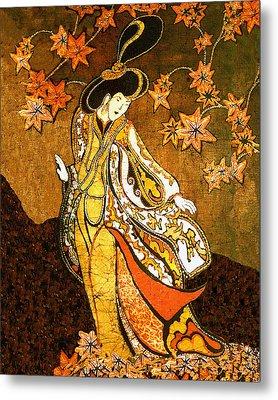 Asian Woman Metal Print by Alexandra  Sanders