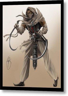 Assassin Metal Print by Antoine Ridley