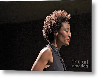 At The Fashion Show Metal Print by Sean Griffin