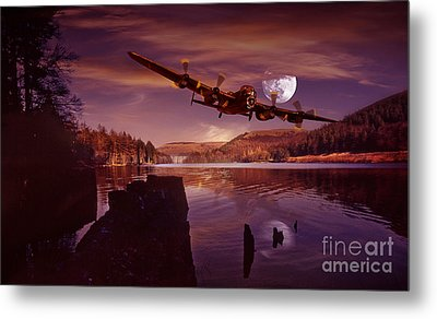 At The Going Down Of The Sun Metal Print by Nigel Hatton