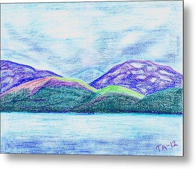 Atlantic Mountains Metal Print by Taruna Rettinger