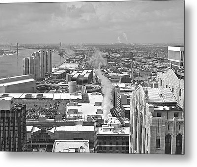 Atop The Guardian  Metal Print by Michael Peychich