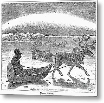 Aurora Borealis, 1833 Metal Print by Granger