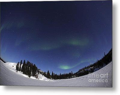 Aurora Over Vee Lake, Yellowknife Metal Print by Yuichi Takasaka