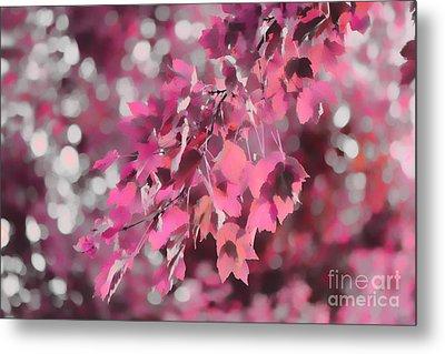 Autumn Blush Metal Print by Jeff Breiman