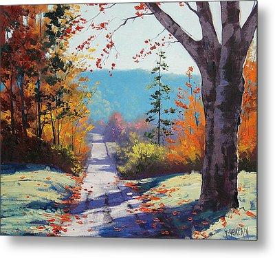 Autumn Delight Metal Print by Graham Gercken