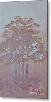 Autumn Fog Metal Print by Anna Folkartanna Maciejewska-Dyba