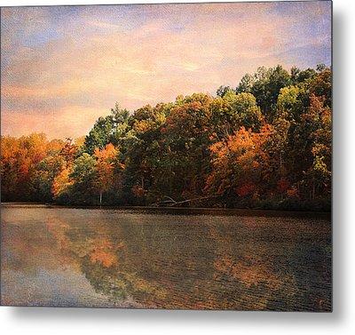 Autumn Reflections 2 Metal Print by Jai Johnson