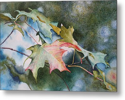 Autumn Sparkle Metal Print by Patsy Sharpe