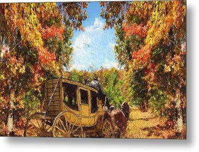 Autumn's Essence Metal Print by Lourry Legarde