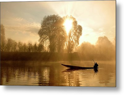 Awakening   (kashmir,india) Metal Print by PKG Photography