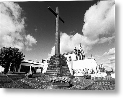 Azorean Chapel Metal Print by Gaspar Avila