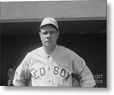 Babe Ruth 1919 Metal Print by Padre Art
