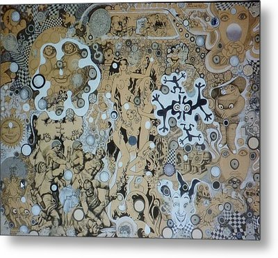 Bad Craziness Metal Print by Douglas Fromm