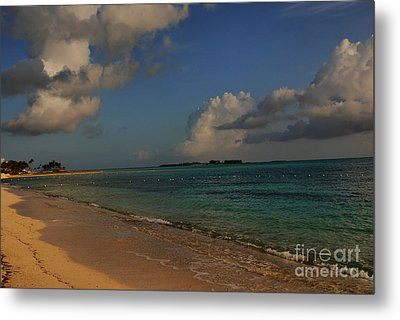 Bahama Ocean View Metal Print by Nancie DeMellia