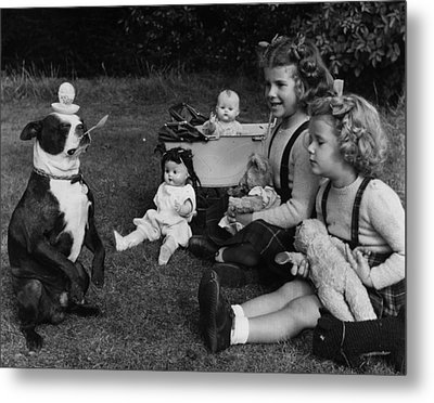Balanced Breakfast Metal Print by Fred Morley