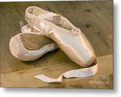 Ballet Shoes Metal Print by Jane Rix