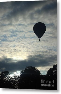 Balloon Shadow Metal Print by Tina McKay-Brown