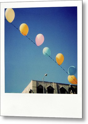 Balloons Metal Print by Nicole Apatoff