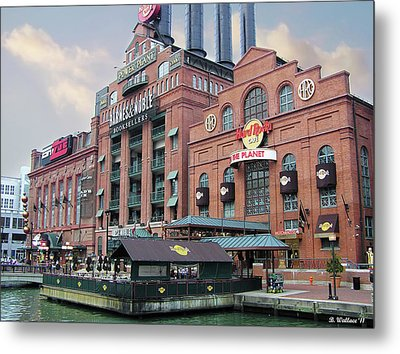 Baltimore Power Plant Metal Print by Brian Wallace