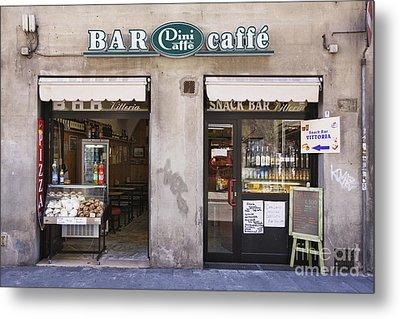 Bar Caffe Metal Print by Jeremy Woodhouse