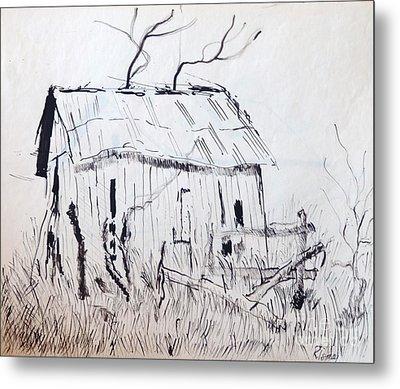 Barn 1 Metal Print by Rod Ismay