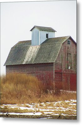 Barn-24 Metal Print by Todd Sherlock