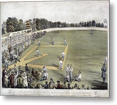 Baseball, 1866 Metal Print by Granger