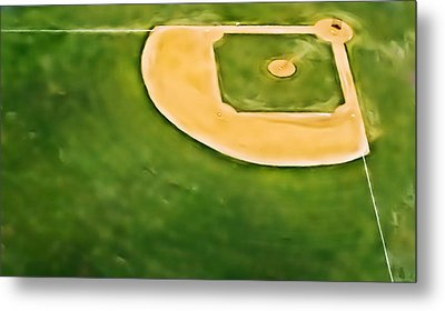 Baseball Metal Print by Patrick M Lynch