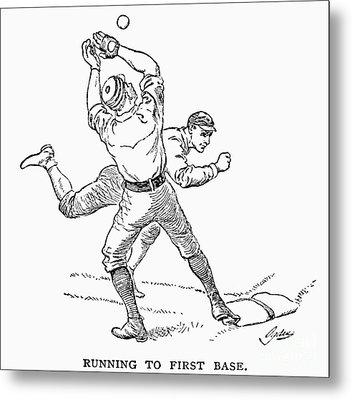 Baseball Players, 1889 Metal Print by Granger