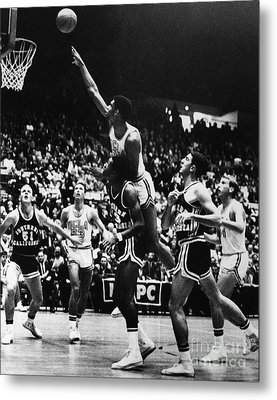 Basketball Game, 1966 Metal Print by Granger