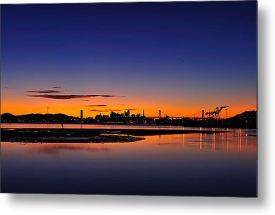 Bay Area Sunset Metal Print by Richard Leon