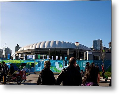 Bc Place Metal Print by JM Photography