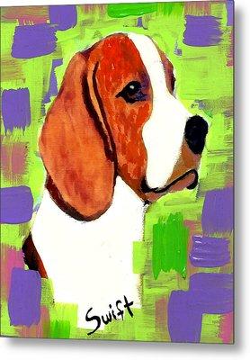 Beagle Metal Print by Char Swift