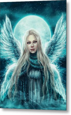 Beautiful Angel Metal Print by Michael Owens
